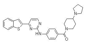 IKK-16 (IKK Inhibitor VII)化学構造